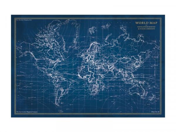 OBRAZ MAP 120X80