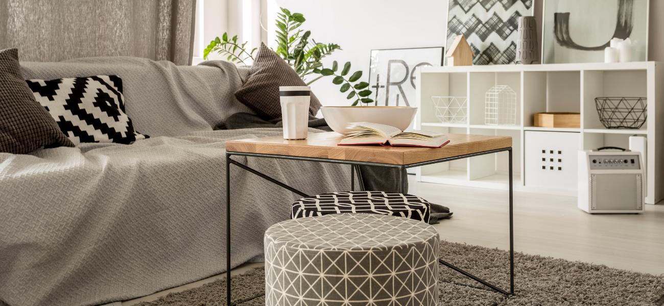Funkcjonalne stoliki kawowe w stylu nowoczesnym
